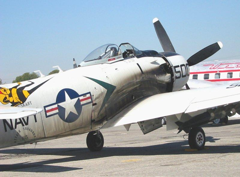 skyraider-exhaust