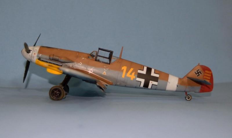 Fw H Bartels Print Messerschmitt Bf 109G-6 par G. Marie 11.//JG 27 1943