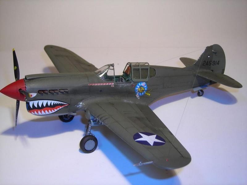 P-40K Port Side