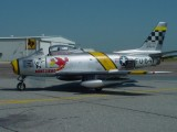 F 86 port with hangar