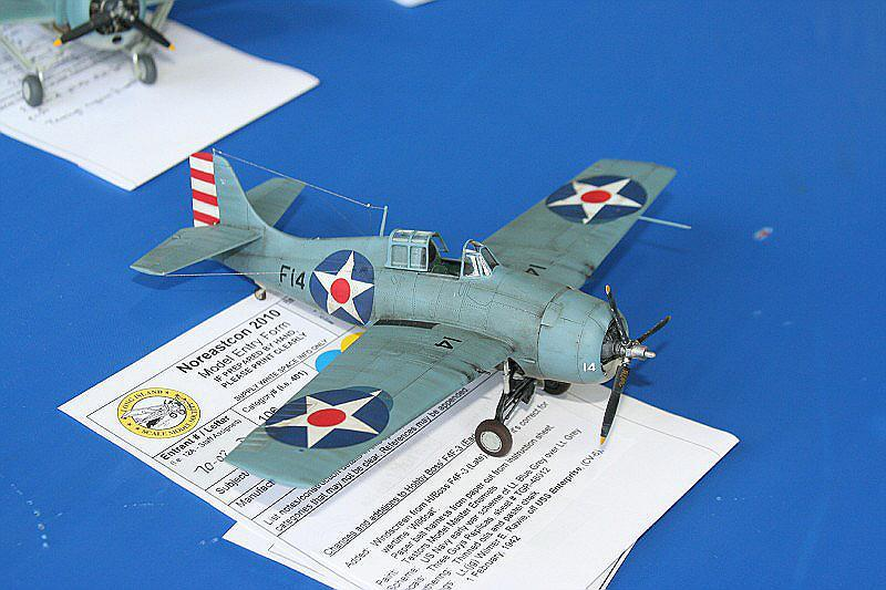F4F-3A Wildcat at Noreastcon 2010