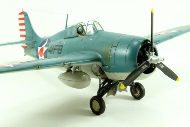 Marek's Tamiya 1:48 Grumman F4F-4 Wildcat_002