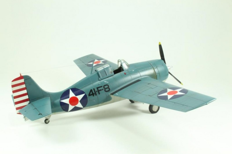 Marek's Tamiya 1:48 Grumman F4F-4 Wildcat_005