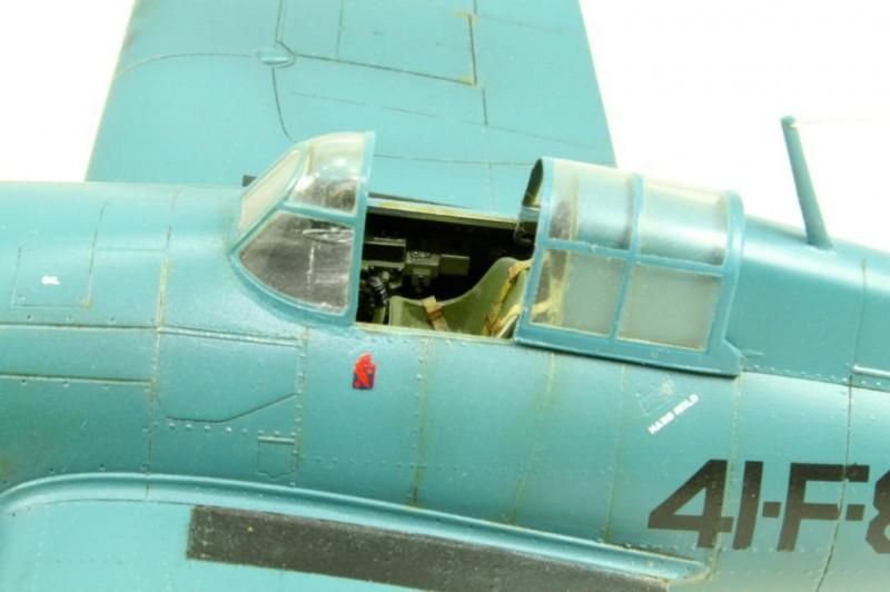 Marek's Tamiya 1:48 Grumman F4F-4 Wildcat_011