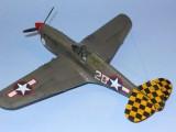 P-40F Port Upr Rear