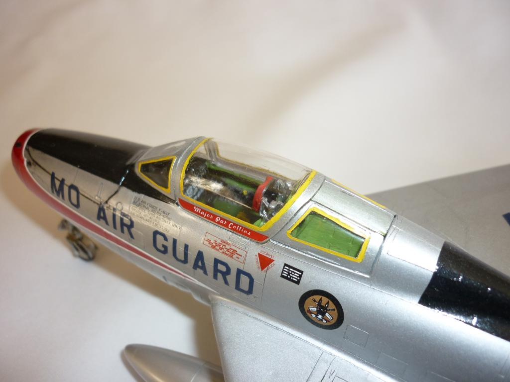 Monogram 1 48 F 84f Thunderstreak Imodeler