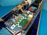 Cable boat mess deck and helm station