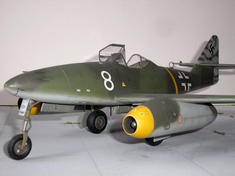 Messerschmitt Me 262 A 1a By Trumpeter In 1 32 Scale