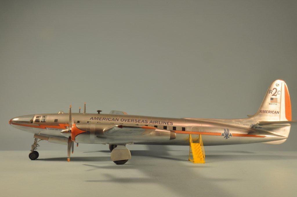 More Bill Bosworth Republic Rainbow Airliner Imodeler