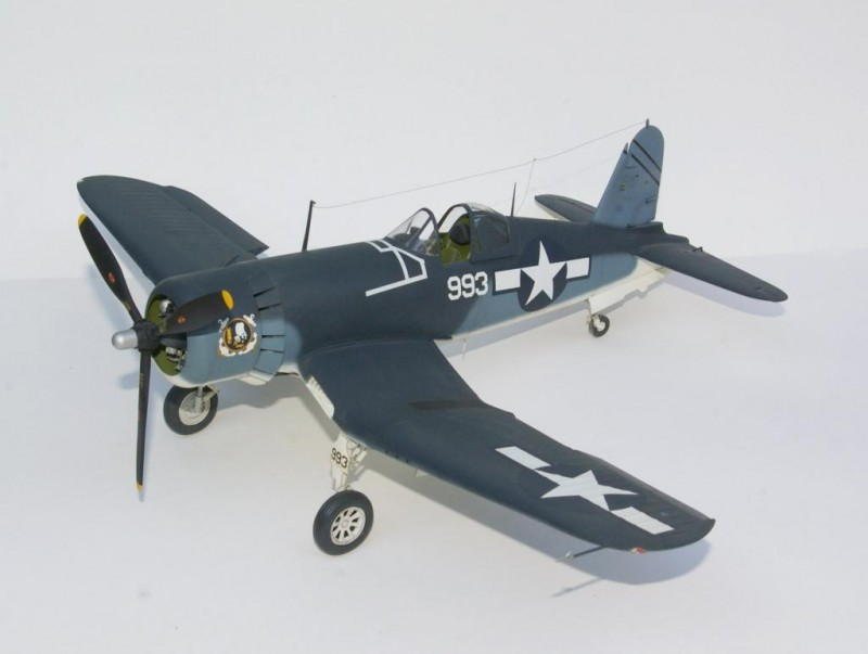 1 32nd Trumpeter F4u 1d Conversion To F4u 1a Imodeler