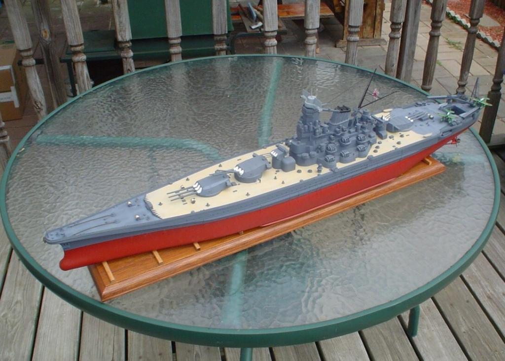 Yamato World S Largest Plastic Ship Model Imodeler