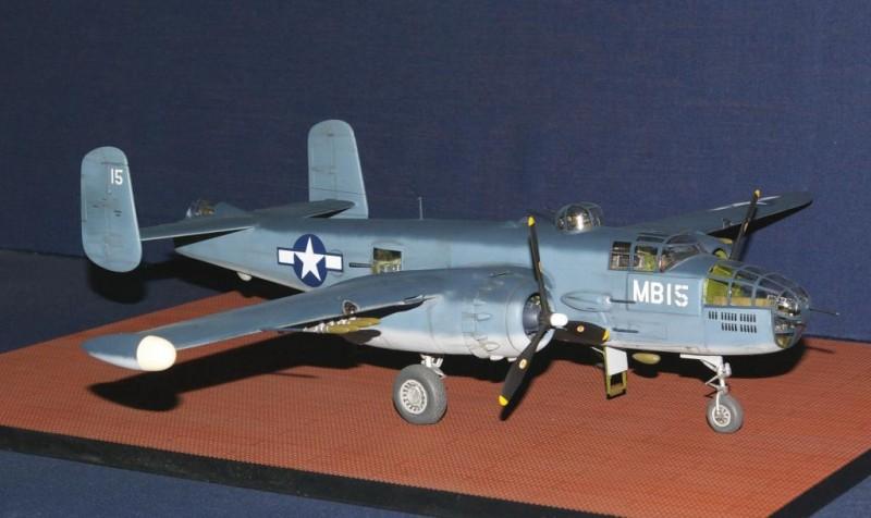 1-48 Monogram B-25 as PBJ-1J