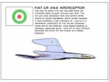 AH FIAT CR 252 INTERCEPTOR 3