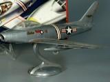 F-86 Lindberg Sabre Jet with plane zoom