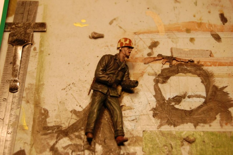 1 35th Scle Iwo Jima Diorama In Progress Imodeler