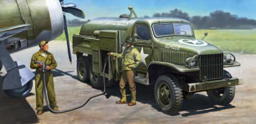 Tamiya US airfield fuel truck