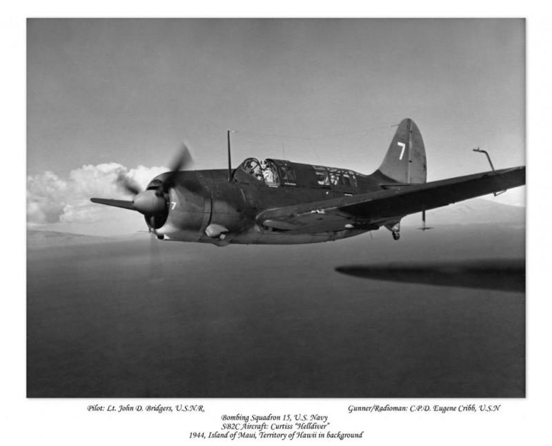Lt. John D. Bridgers_airborne
