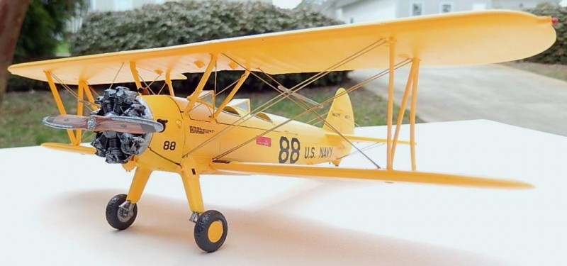 Stearman completed 001