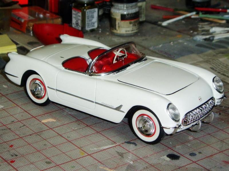 Monogram 1 24th Scale 53 Corvette Imodeler