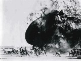 WW1-photographs-explosion-of-blimp-at-Fort-Sill-April-2-1918