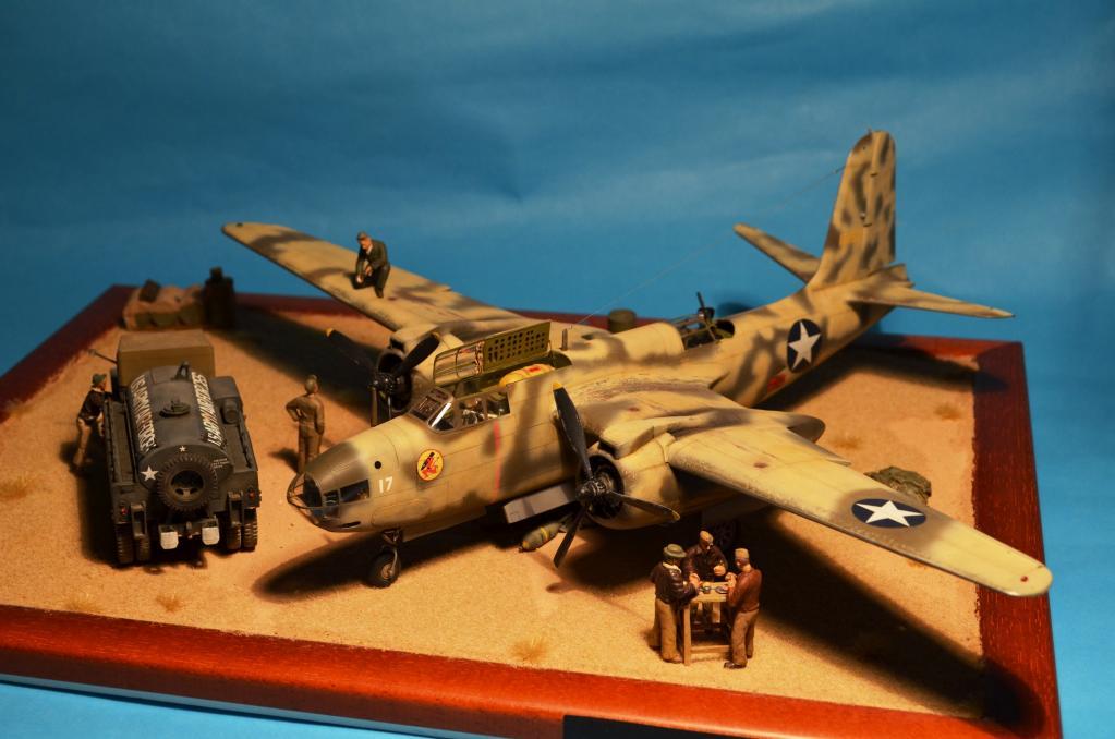 A on Desert Aircraft Engines