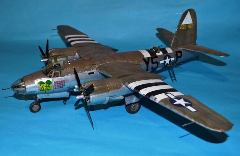 B 26 Marauder Rosie O Brady Of 344th Bomb Group Imodeler
