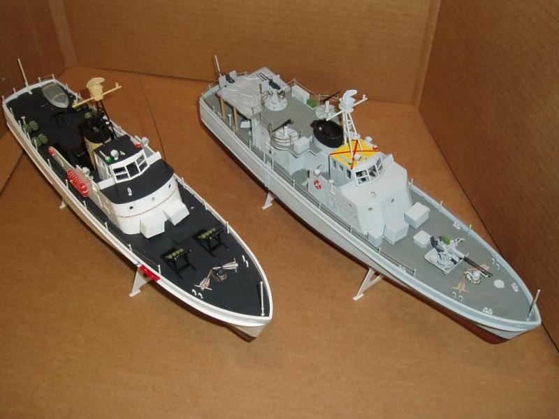 Lindberg Coastal Patrol Boat  & PGM 28   (2005)