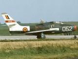 F-84F 52-7216 Belgium-FU-52-Demo-1966-01