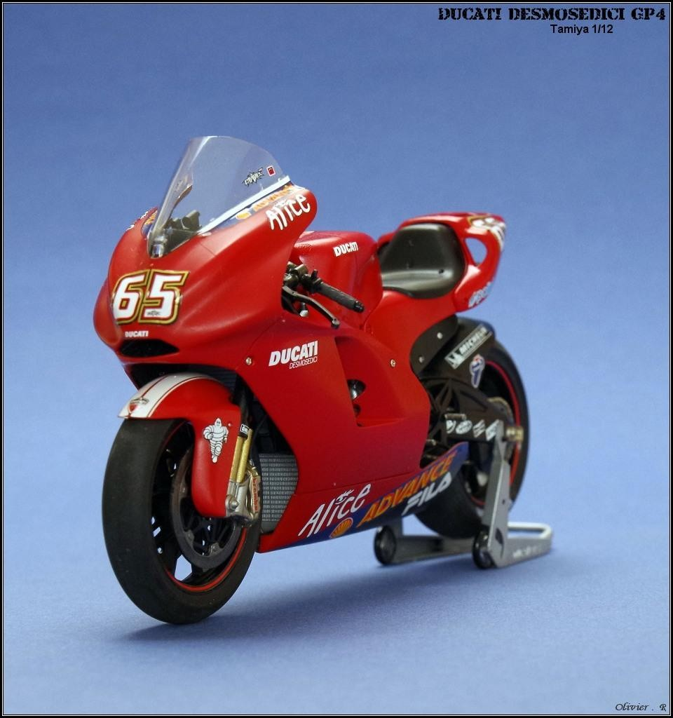 Ducati Desmosedici Gp4 Imodeler Tamiya Scale Kits 11 Additional Images Click To Enlarge