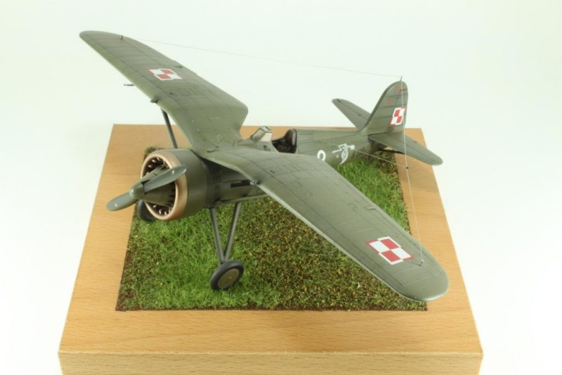Marek's 1:48 Mirage Hobby PZL P.11c_006
