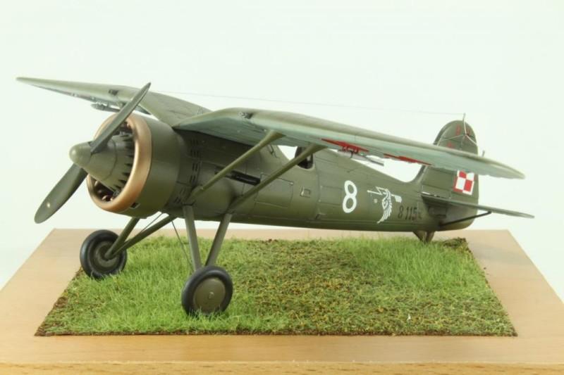Marek's 1:48 Mirage Hobby PZL P.11c_007