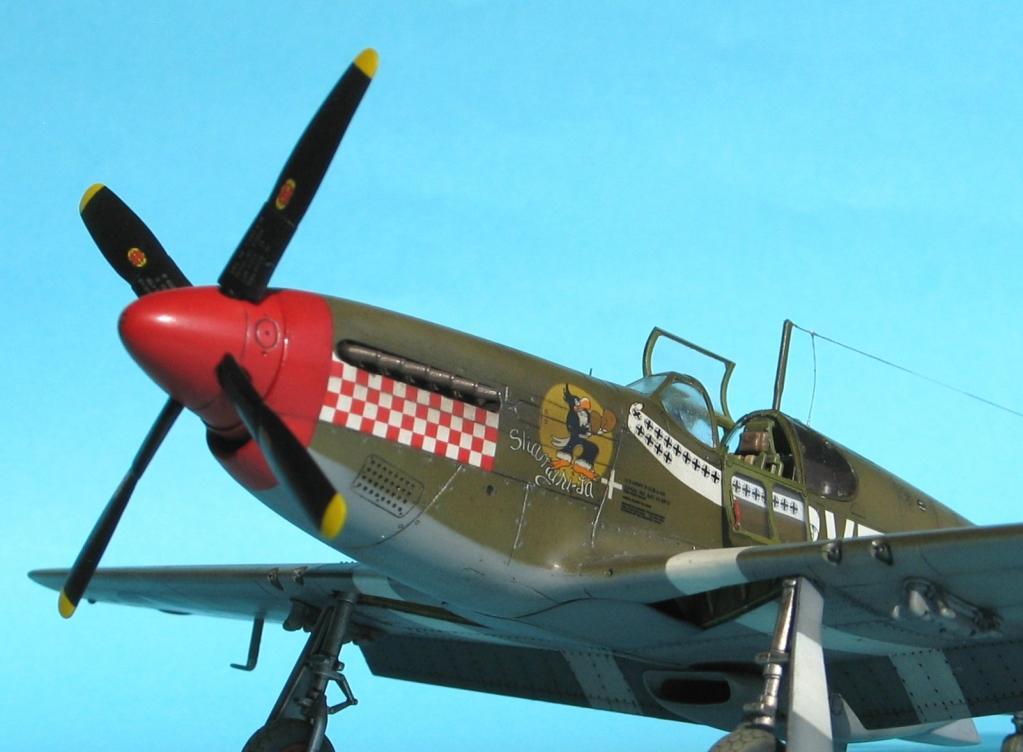 1 48 Tamiya P 51b Mustang Shangri La Imodeler