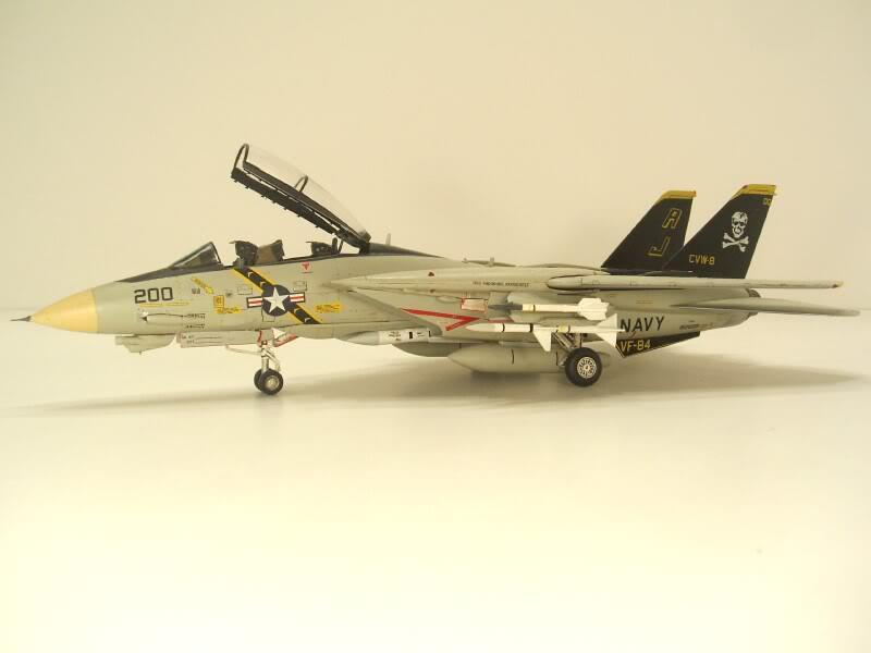 "1//72 F-14A Tomcat /""Jolly Rogers/""."