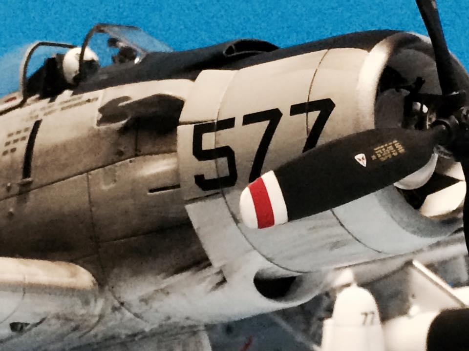 Tamiya A 1h Skyraider 1 48 Scale Imodeler