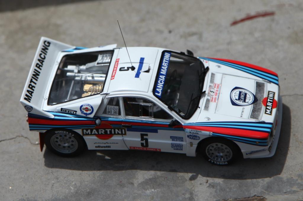 Lancia 037 Rally 1 24 Hasegawa Imodeler