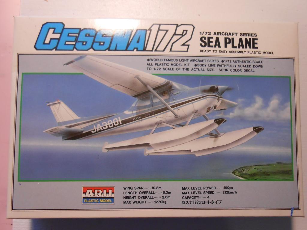 Water Wings group build – Cessna 172 floatplane, Arii 1/72