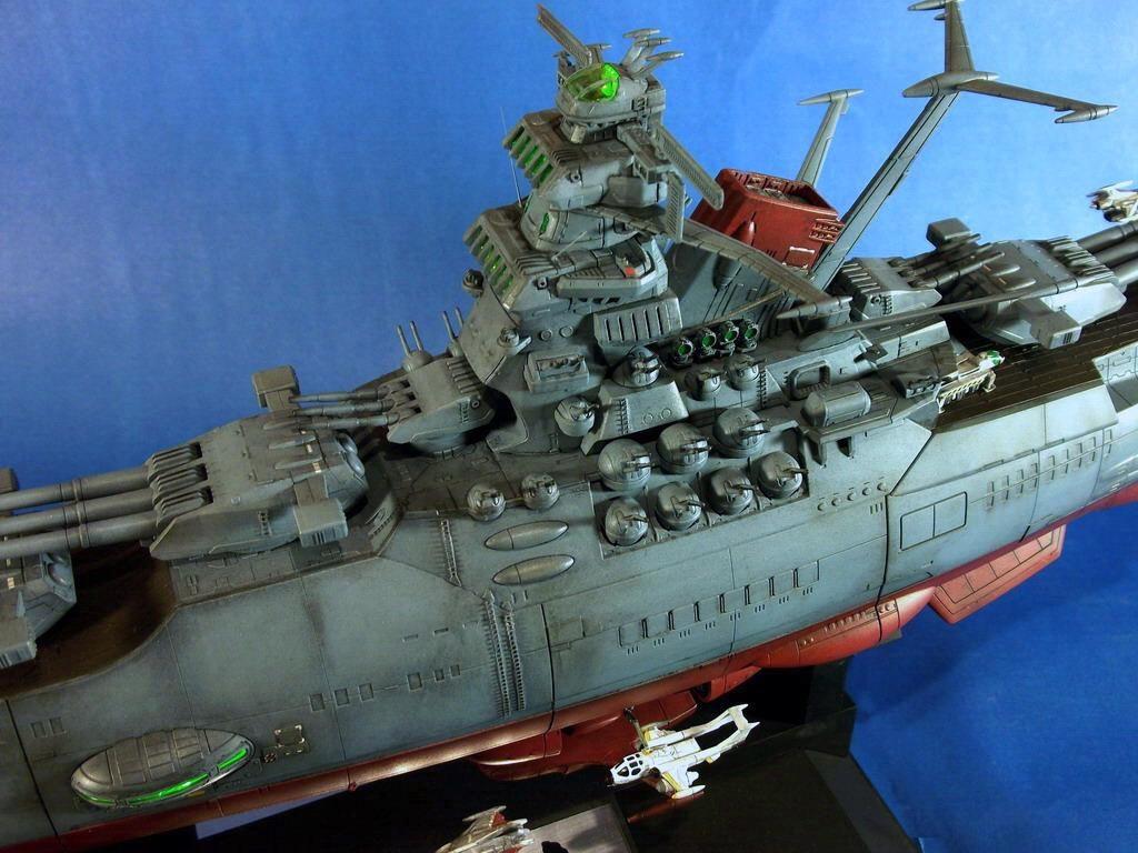 Space Battleship Yamato 2199 (Bandai 1/500) | iModeler