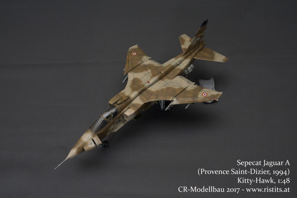 Sepecat Jaguar A – French Air Force, Kitty-Hawk, 1:48 | iModeler