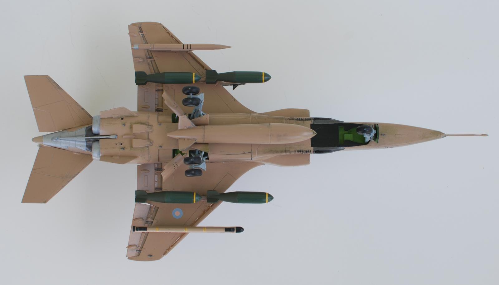 23 additional images. Click to enlarge. & 1/48 Airfix Sepecat Jaguar Operation Granby | iModeler