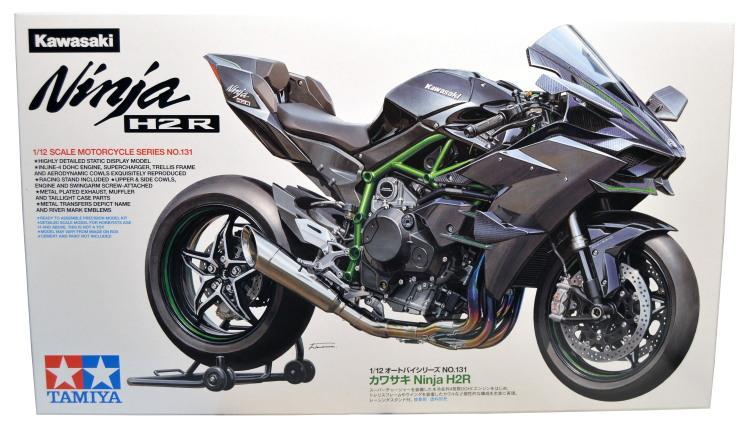Tamiya 112 Kawasaki Ninja H2r Build Review Imodeler