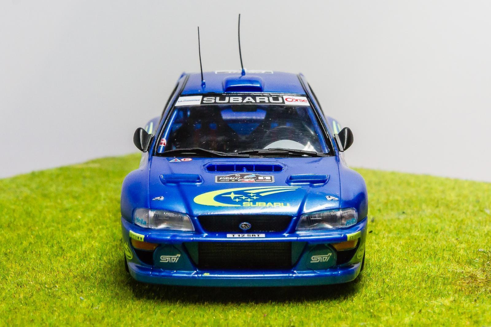 Tamiya 1 24 Scale Subaru Impreza Wrc 99 Imodeler