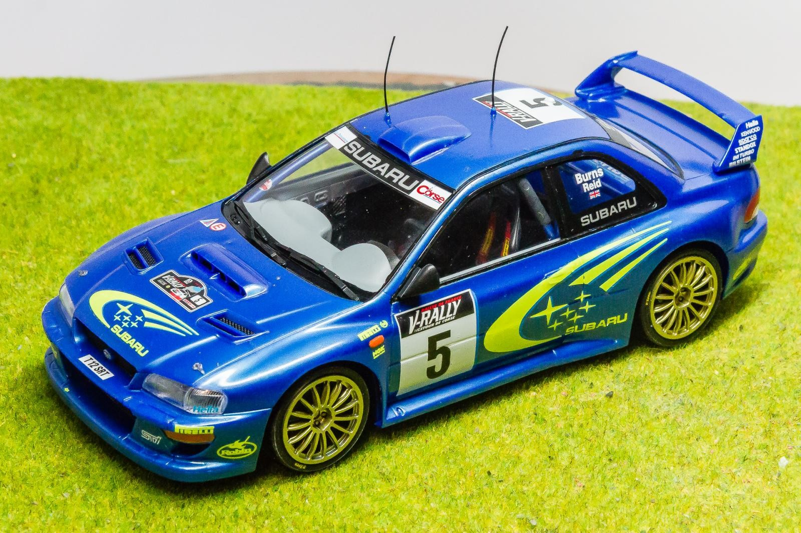 tamiya 1 24 scale subaru impreza wrc 99 imodeler. Black Bedroom Furniture Sets. Home Design Ideas