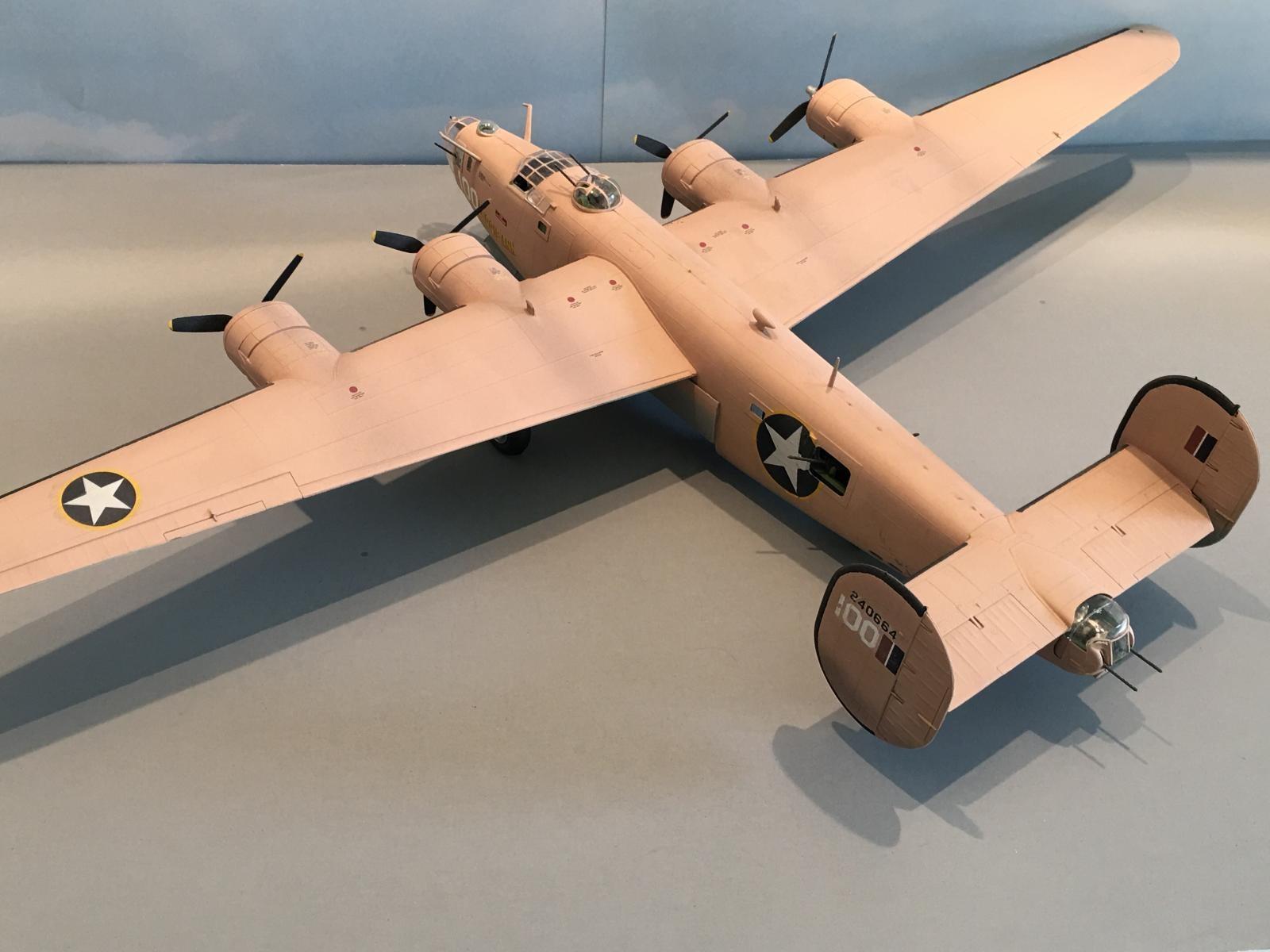 """1/48 Monogram / ProModeler B-24 D Liberator """"Teggie Ann"""