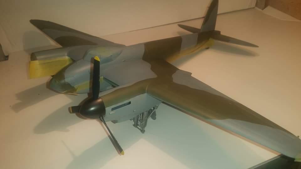 HK 1/32 DH Mosquito BMk XVI build Pt  6 | iModeler