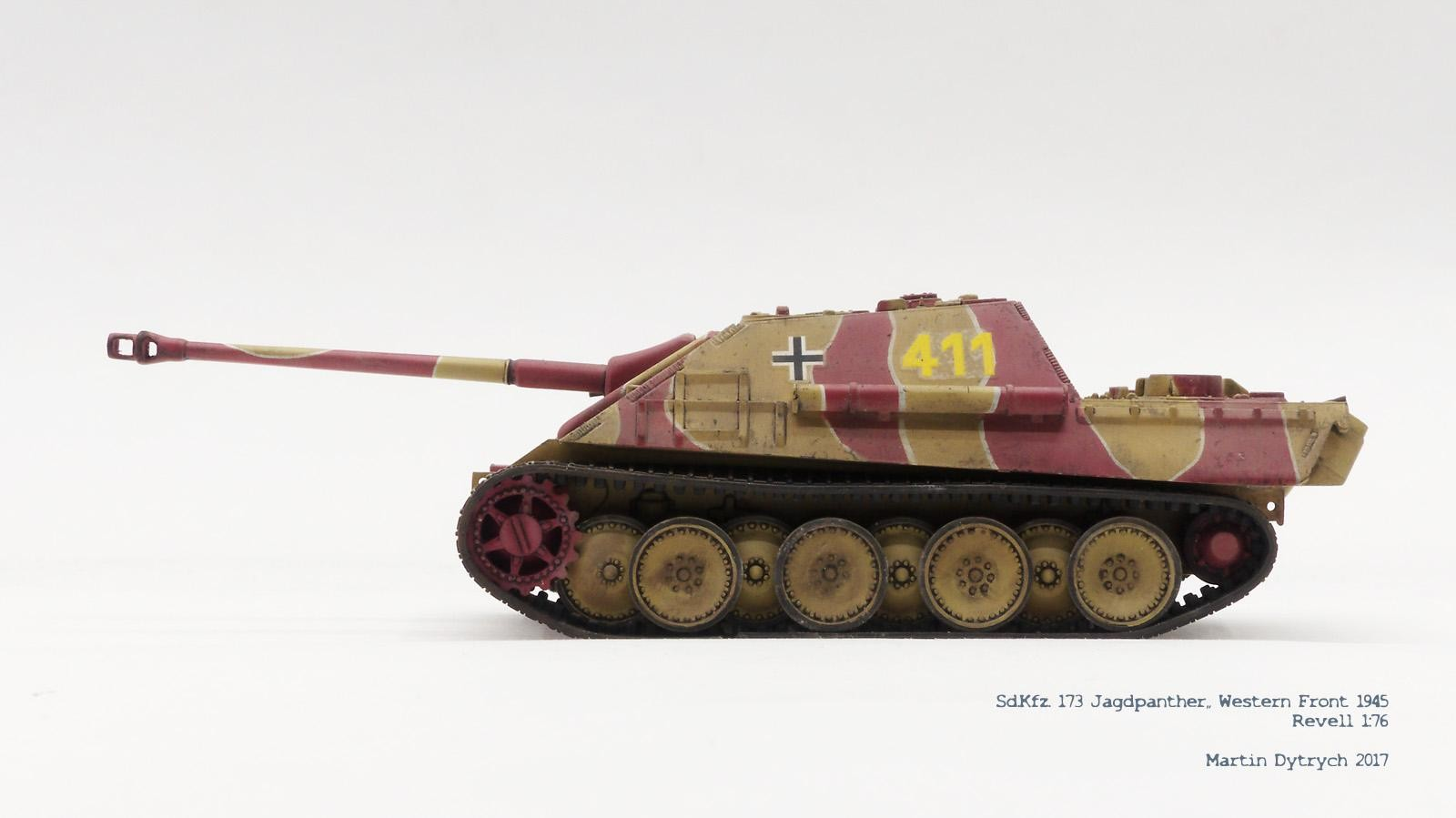 Tanques Jagdpanther Wehrmacht SdKfz 173 listo modelo 1:72 Altaya modelo