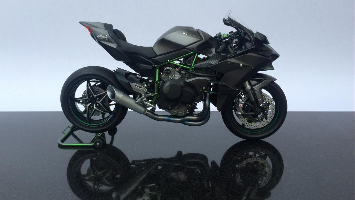 Kawasaki Ninja H2r >> Kawasaki Ninja H2R | iModeler