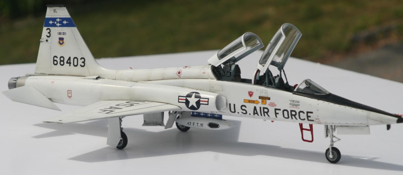 1/48 Trumpeter T-38A Talon Jet Trainer: Gem of a Kit | iModeler