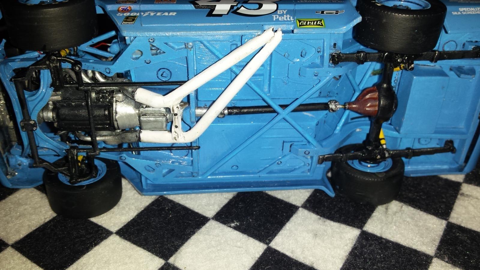 1 25 Richard Petty Short Track Dodge Dart Nascar Kit Car