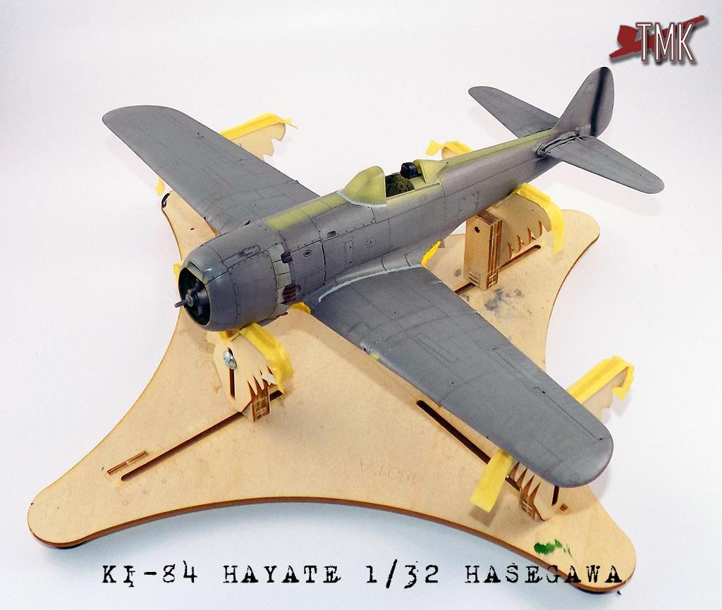 """Nakajima Ki-84 Hayate """"Frank"""" Hasegawa 1/32"""