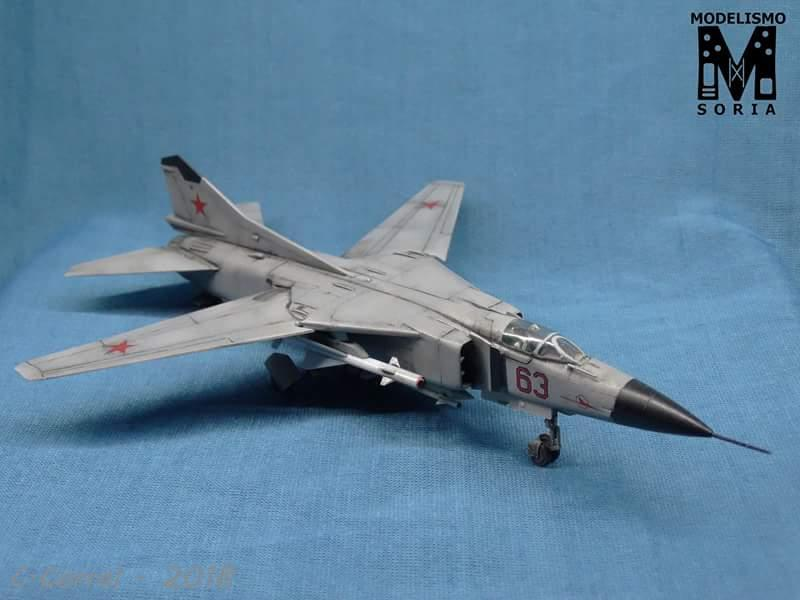 MiG-23 Flogger-A – Airfix 1/72   iModeler